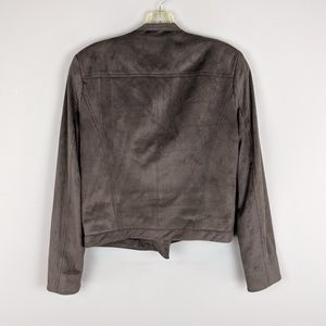 Vintage Jackets & Coats - Lavender Brown | Suede Brown Motor Jacket - H5